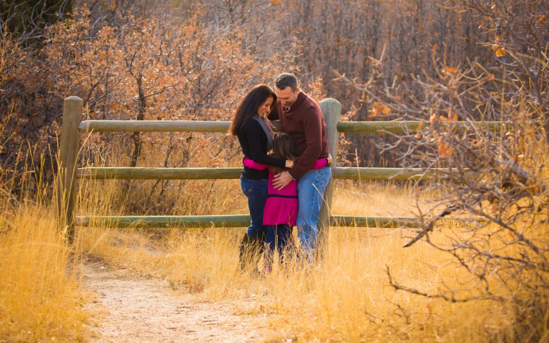 Castlewood Canyon, Franktown CO Family Session