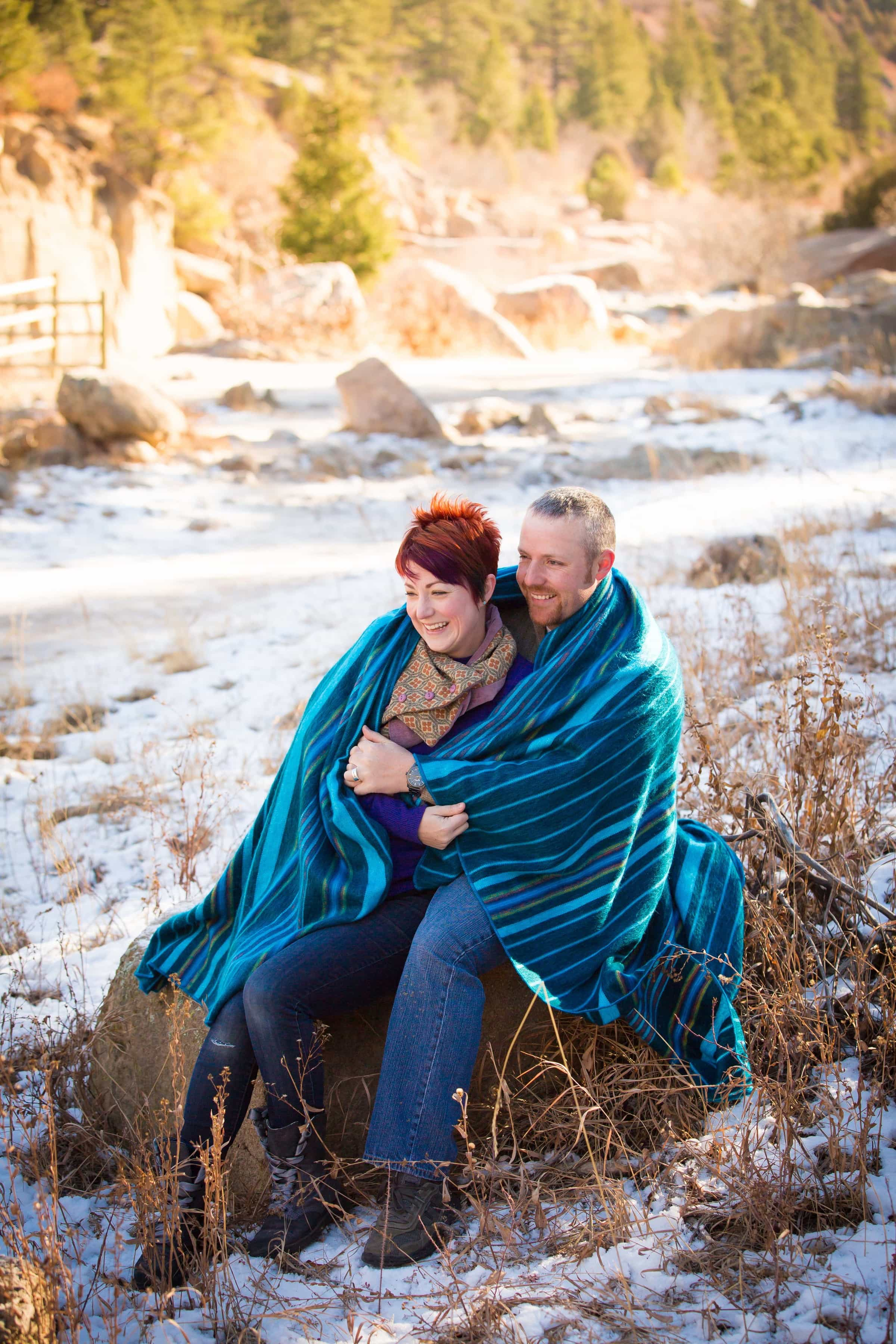 Family Portrait Session in Castlewood Canyon State Park