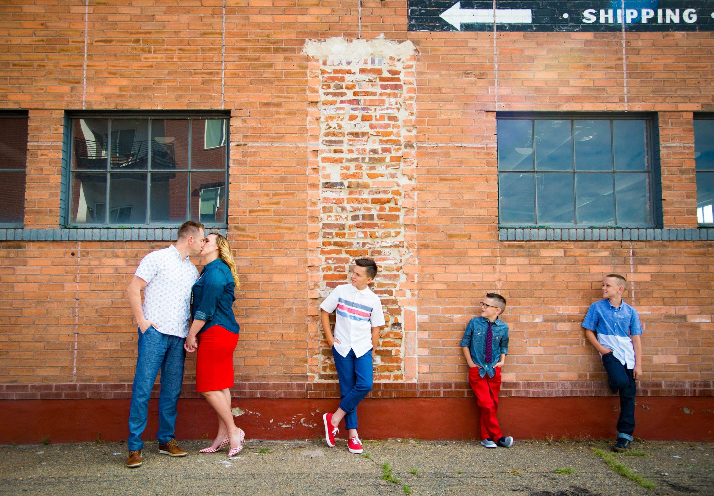 The Gift of Photography, Denver RiNo Family Photography Session