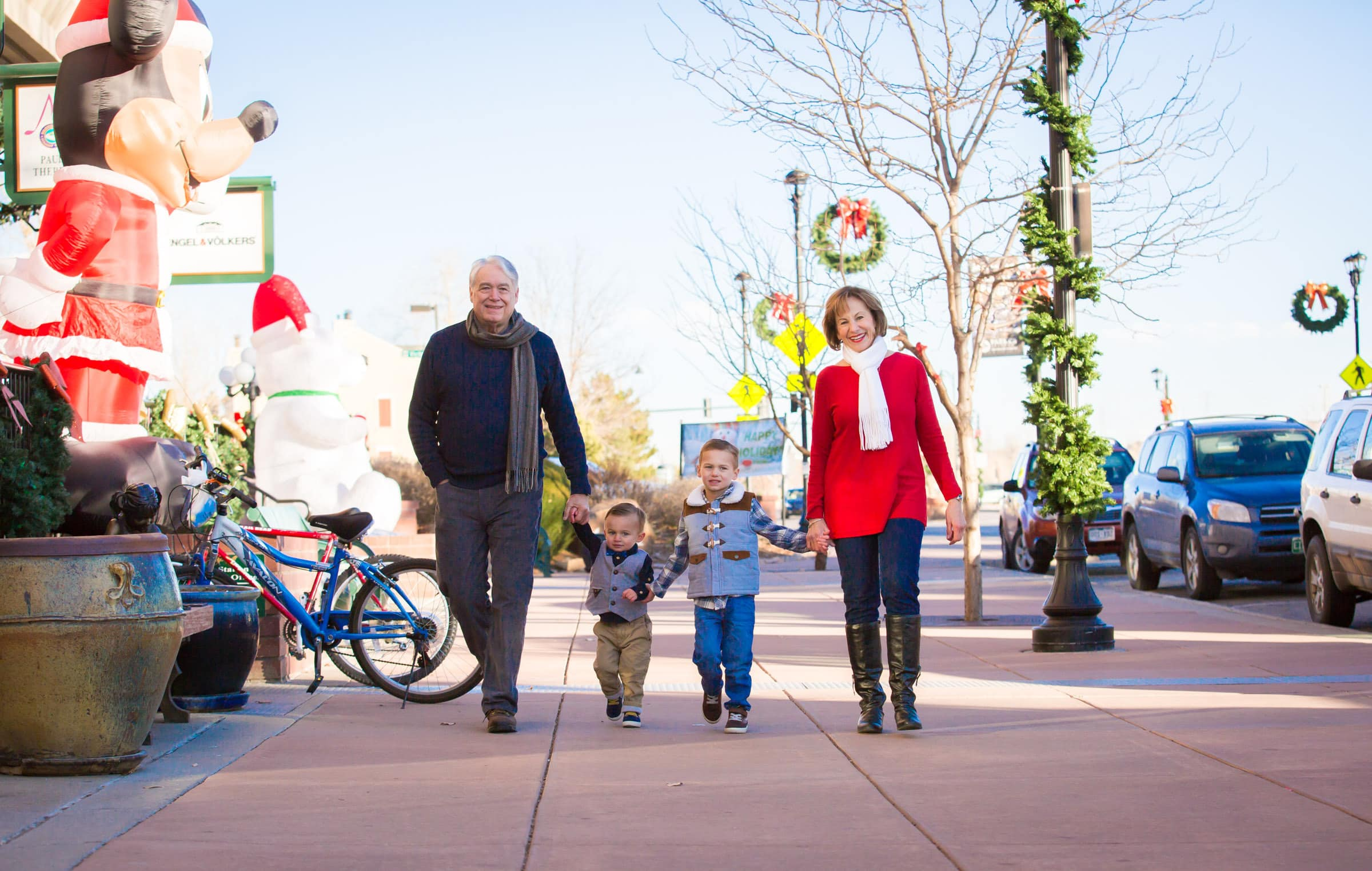 Old Towne Parker Family Christmas Photography