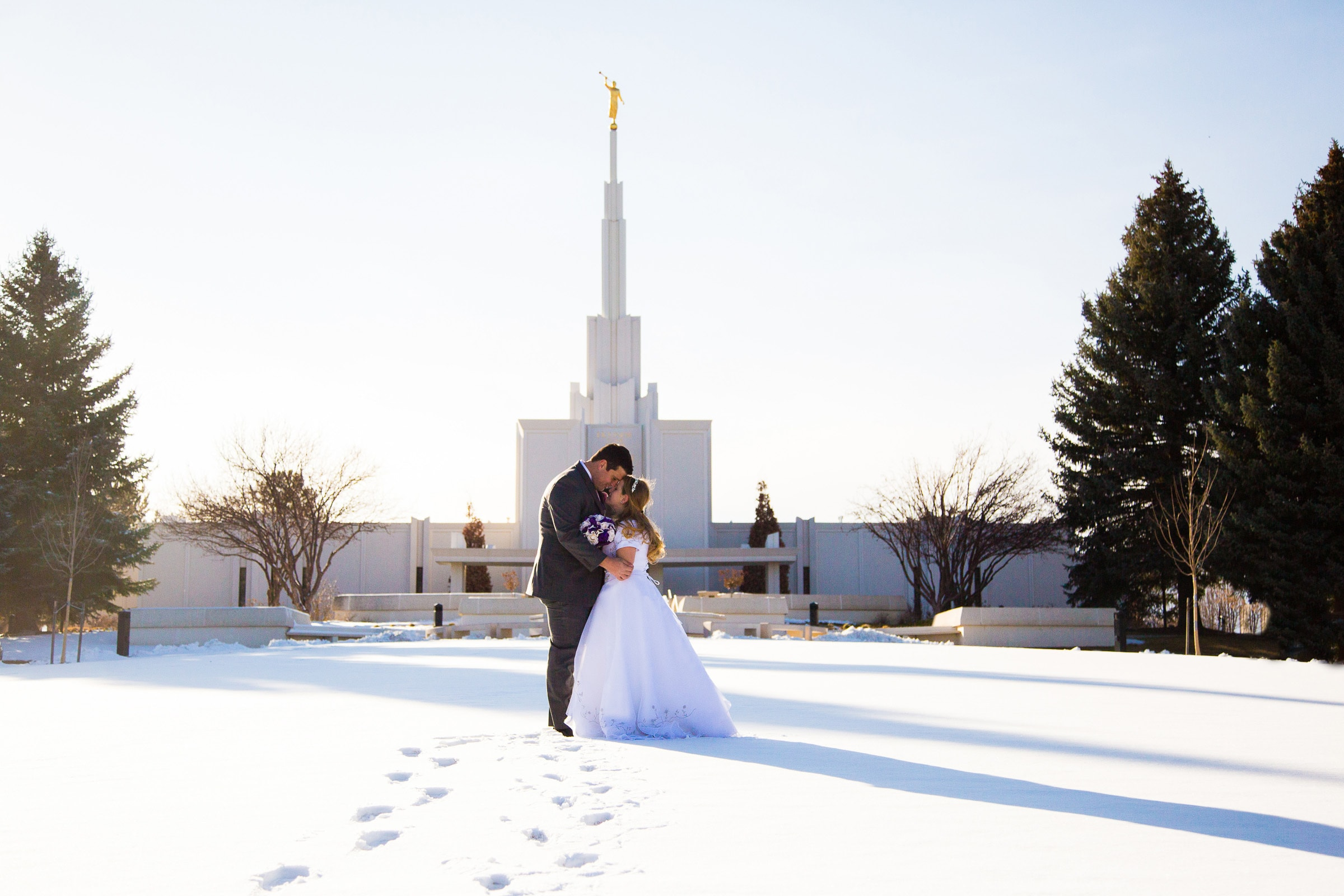 Spencer and Tiffany – Denver LDS Temple Wedding