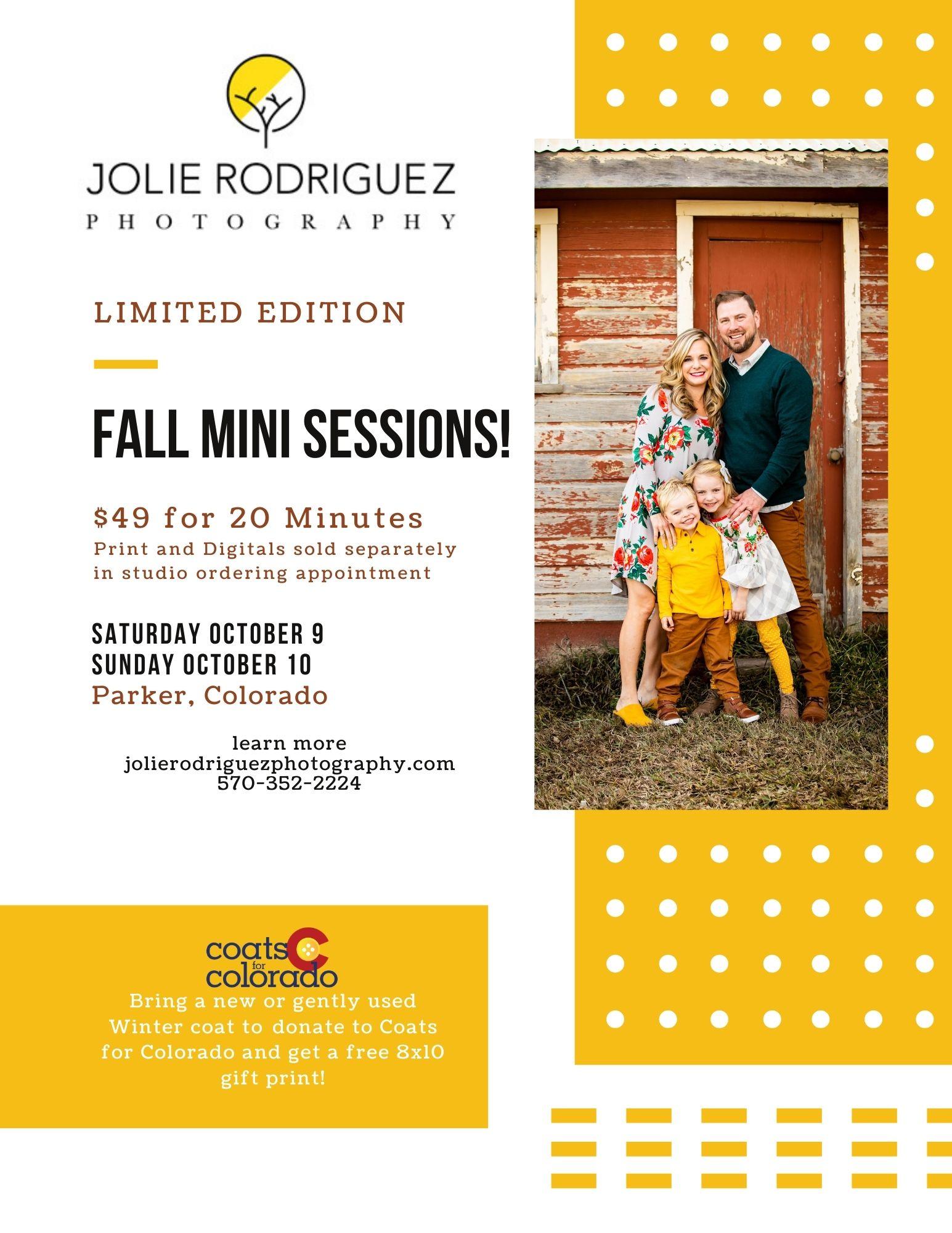 2021 Fall Mini Sessions