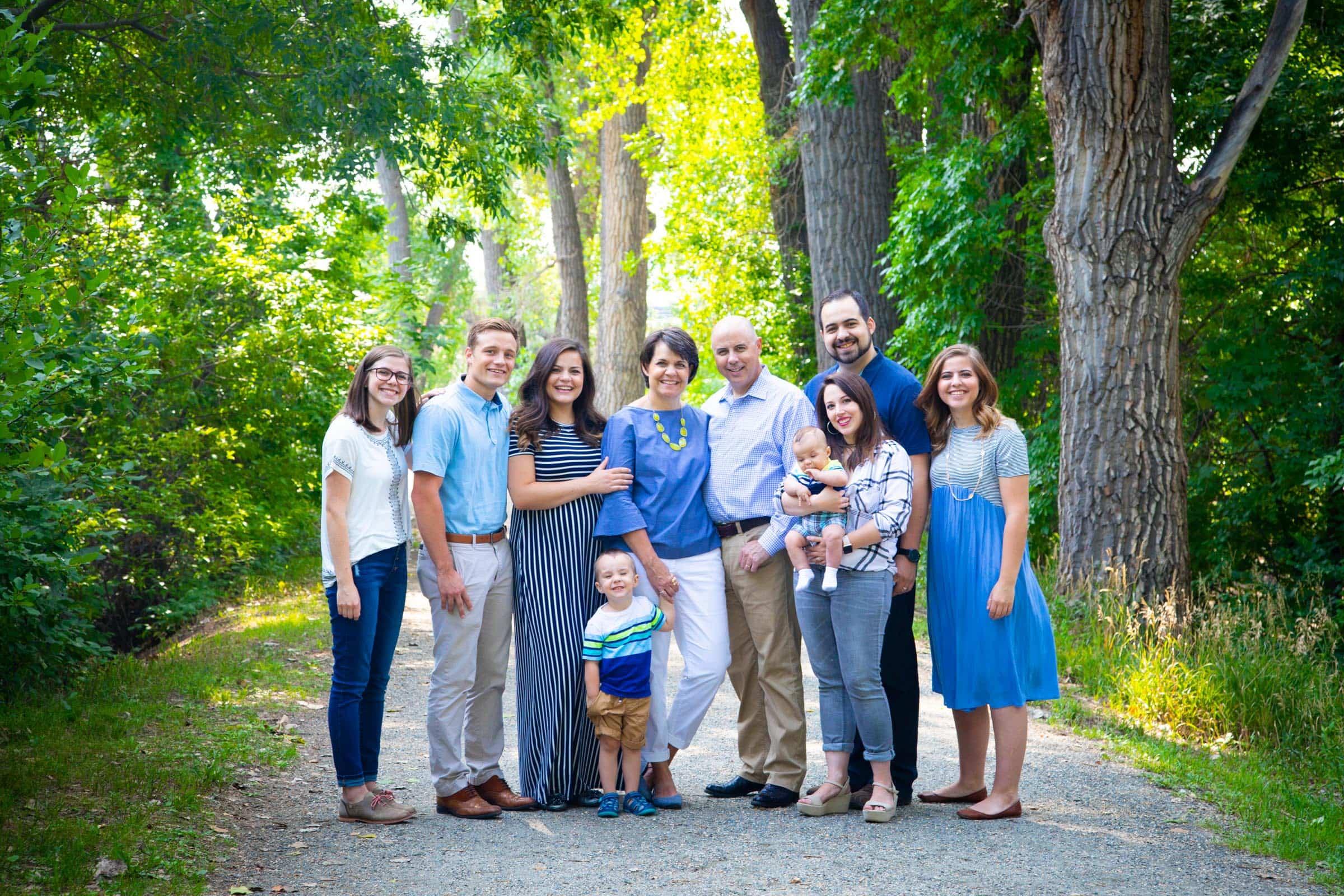 The Jackson Family, Highlands Ranch Family Photography