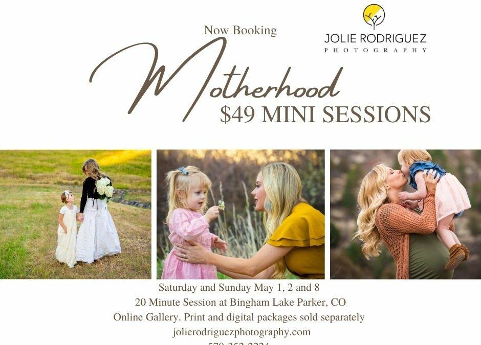 Motherhood Mini Sessions 2021