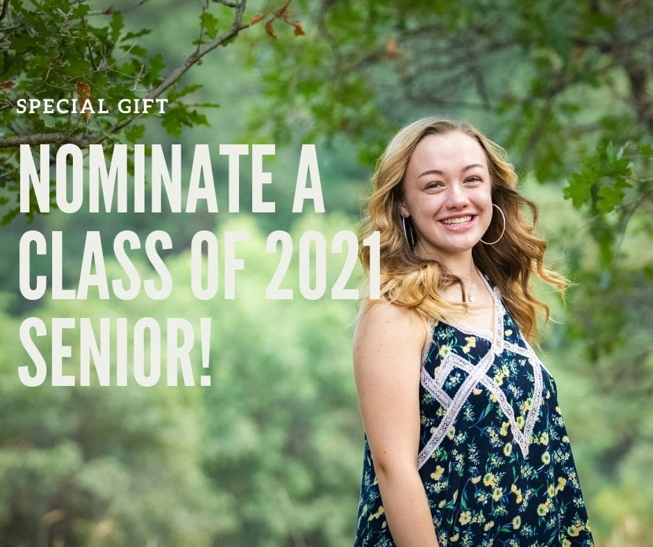 Nominate a 2021 Senior